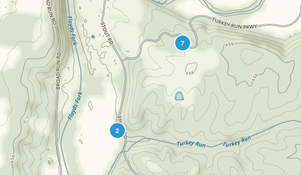 Turkey Run Park Map