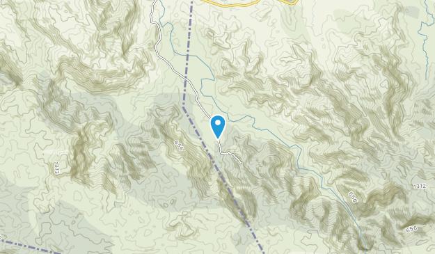 Parque Nacional Saltos de la Jalda Map