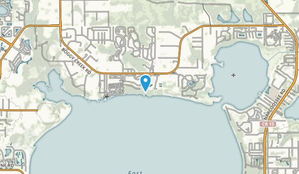 Austin-Tindall Regional Park Map