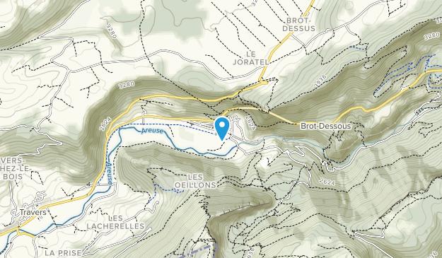 Noiraigue Map