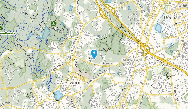 Lowell Woods Map