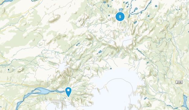 Fjallabak Nature Reserve Map