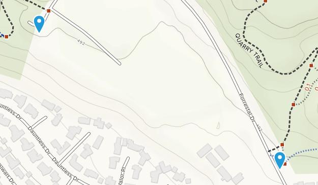 Forrestal Nature Preserve Map