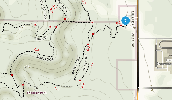 Friedrich Wilderness Park Map
