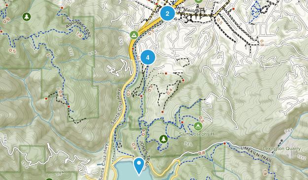 St. Joseph's Hill Open Space Preserve Map