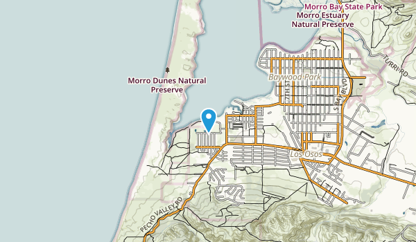 Morro Dunes Nature Preserve Map