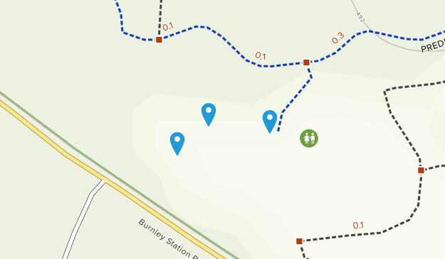 Preddy Creek Trail Park Map