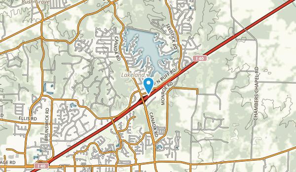 Windward Slopes Park Map