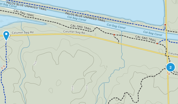 Cap Sauers Holding Nature Preserve Map