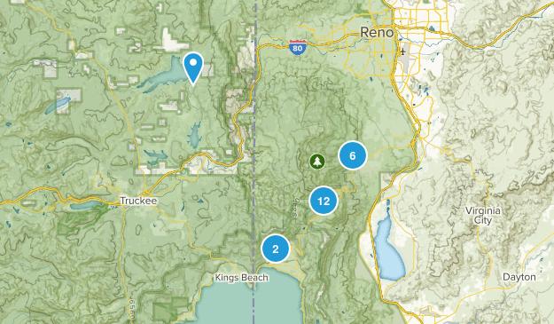 Mount Rose Wilderness Map