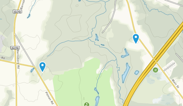 Ceres Park and Nature Preserve Map