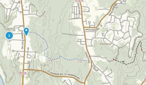 Franklin D. Roosevelt National Historic Site Map