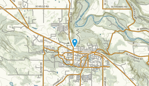 Sandy River Park Map
