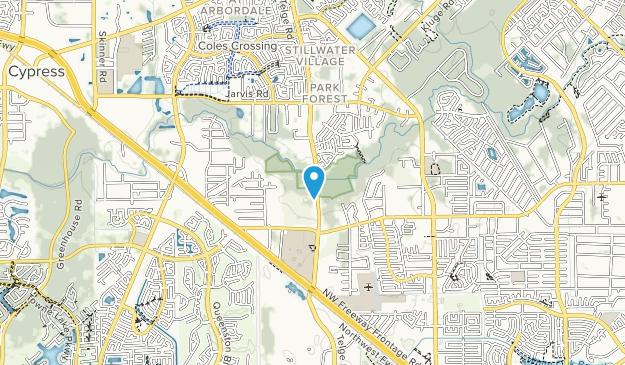 Bud Hadfield Park Map