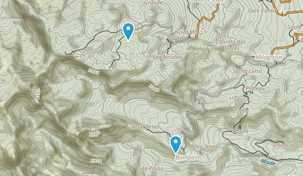 Parque Natural Ôbo Map