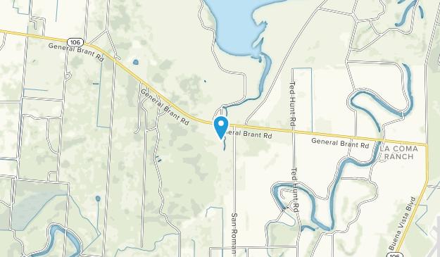 Laguna Atascosa National Wildlife Refuge Map