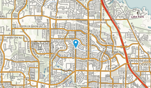 Leonard L. Woods Park Map