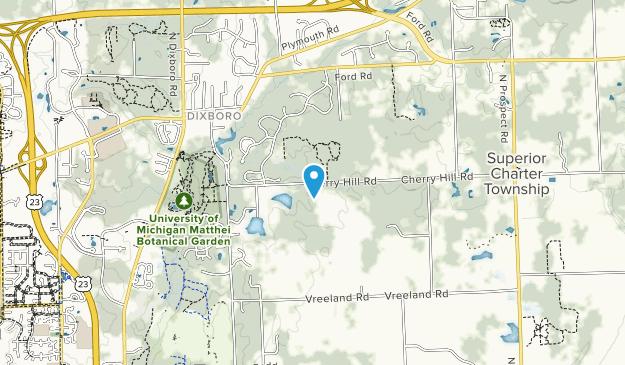 Cherry Hill Nature Preserve Map