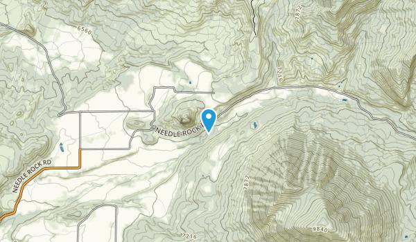 Needle Rock Study Area Map