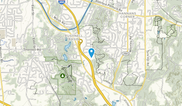 Horizon Hill Conservation Area Map