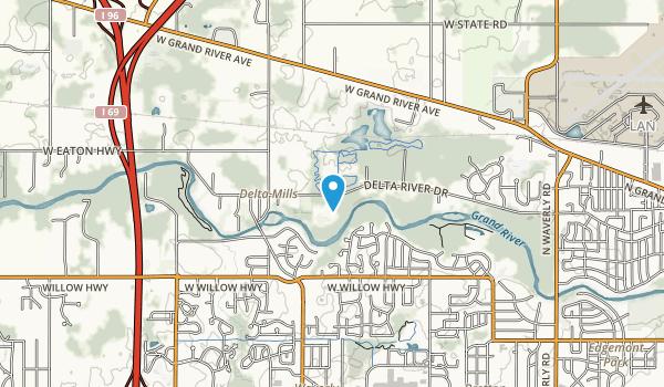 Hawk Meadow Park Map