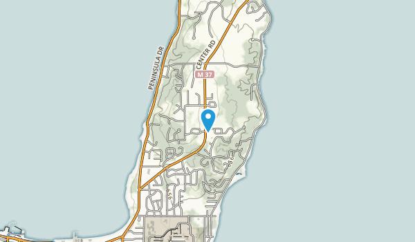 Pelizzari Natural Area Map