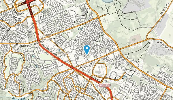 Rattan Creek Park  Map