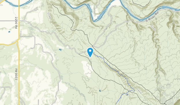 Gunnison Gorge National Conservation Area Map