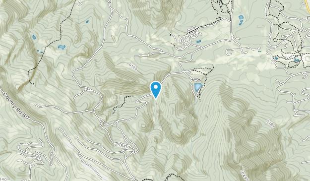Snow Mountain Ranch Map