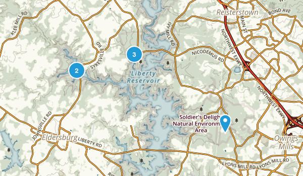 Liberty Reservoir Cooperative Wildlife Management Area Map