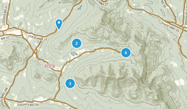 Windham-Blackhead Range Wilderness Map