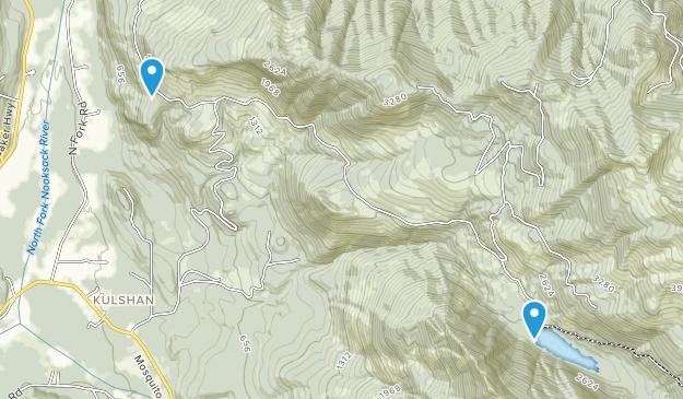 Canyon Lake Community Forest Map