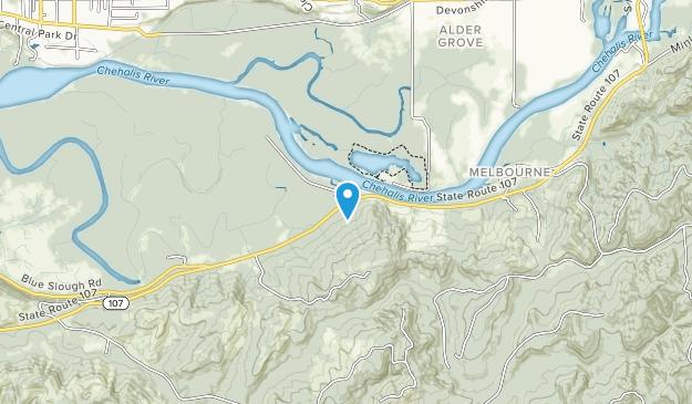 Chehalis River Surge Plain Map