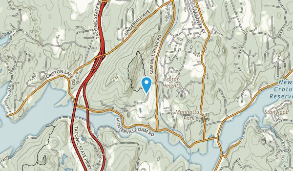Turkey Mountain Park Map