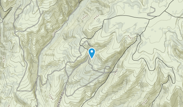 Naneum Ridge State Forest Map