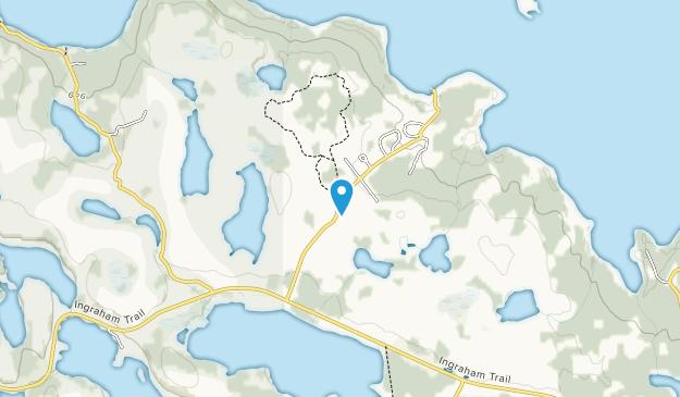 Prelude Lake Territorial Park Map
