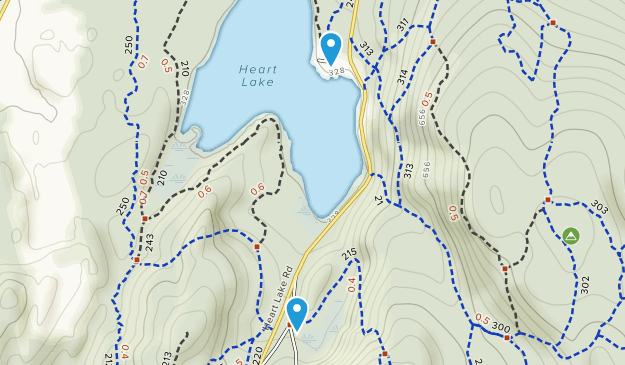 Anacortes Community Forest Lands Map