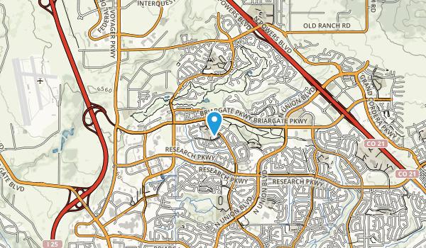 John Venetia Community Park Map