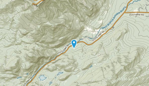 McKenzie Mountain Wilderness Map