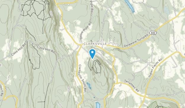 Bennett Hill Preserve Map