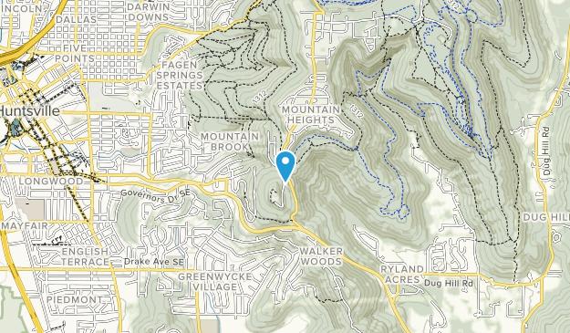 Big Cat Creek Tract Map