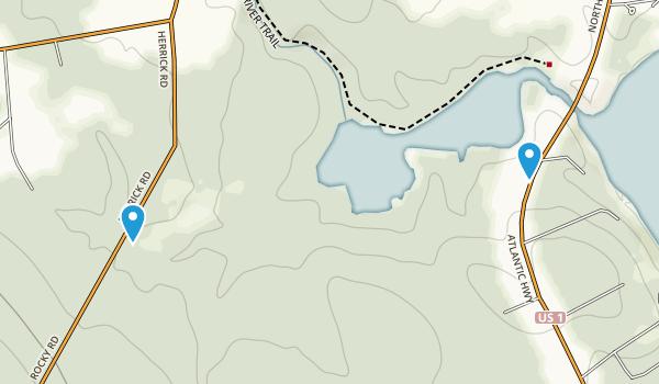 McLellan-Poor Preserve Map