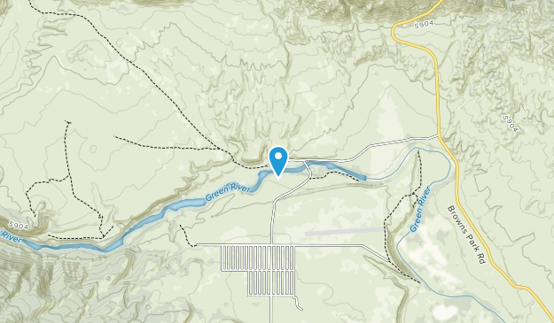 John Jarvie Ranch Historic Site Map