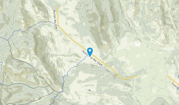 Bobcat Creek Wildland Provincial Park Map
