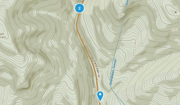 Halcott Mountain Wild Forest Map