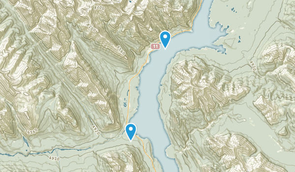 Job/Cline Public Land Use Zone Map