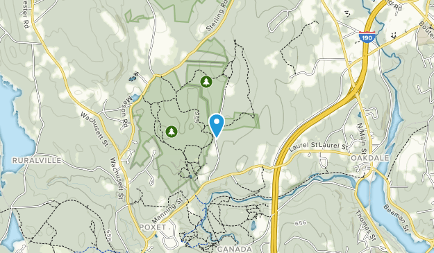 Poutwater Pond Wildlife Management Area Map