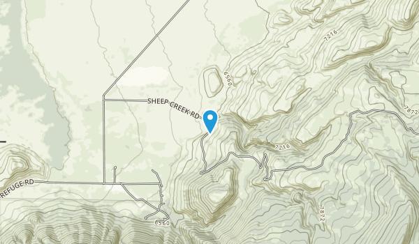 National Elk Refuge Map