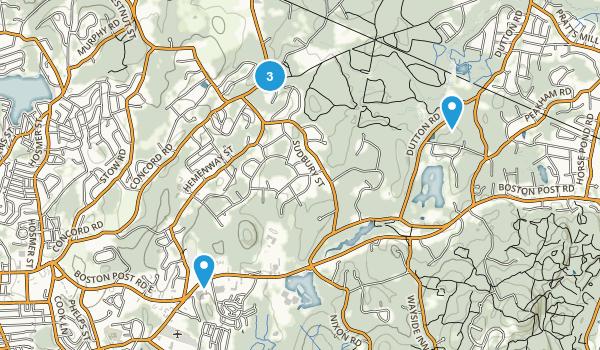 Marlborough-Sudbury State Forest Map