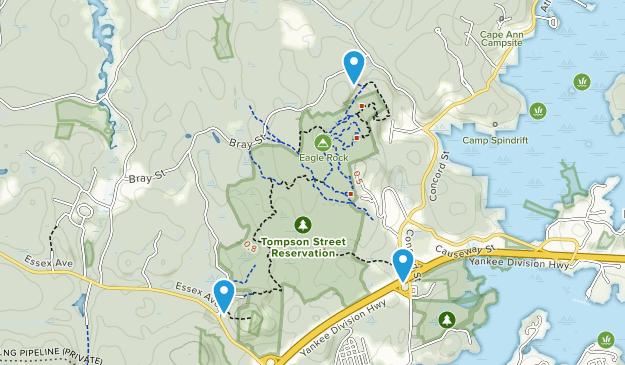 Thompson Street Reservation Map